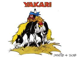 Yakari and Little Thunder, two friensd for life!