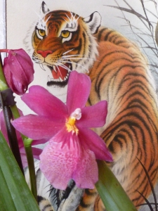 Leadership is being soft as flower and strong as a tiger